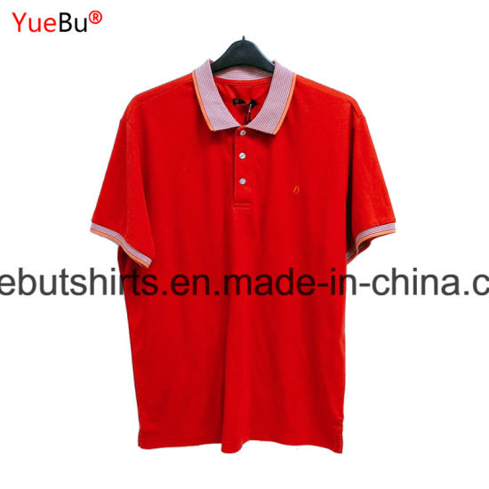 95% Cotton 5% Spandex Custom Polo Shirts, Polo T Shirt, Polo Shirt (OEM)