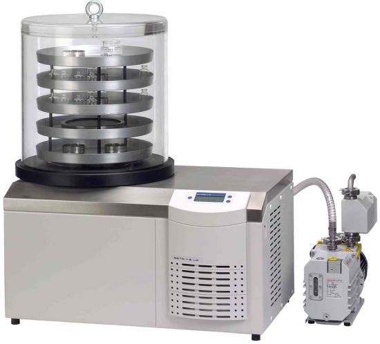 Laboratory Freeze Dryer for Drying Biological Product pictures & photos