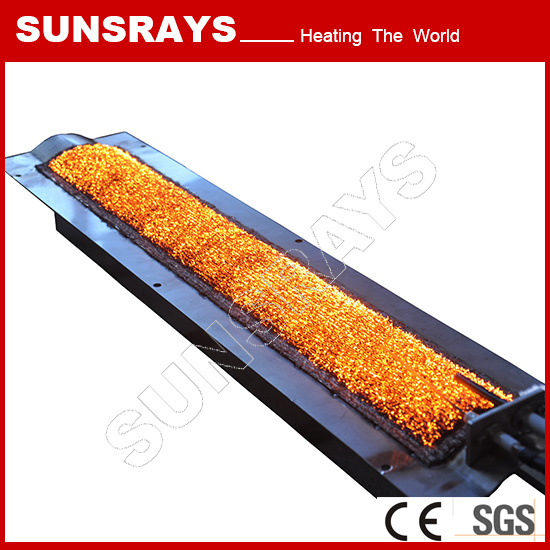 Powder Coating Infrared Gas Heater with Metal Fiber Burner pictures & photos
