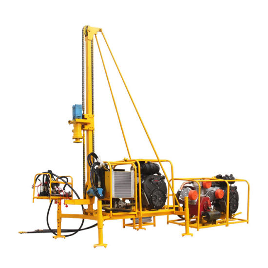 China Rock Drilling Portable Air Drilling Machine Gasoline