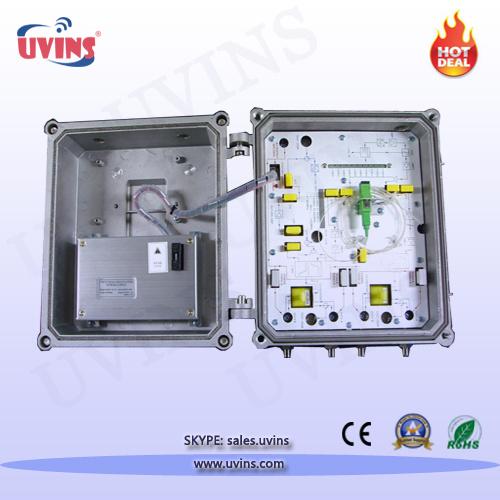 CATV 4-Port Outdoor AGC Optical Node Receiver