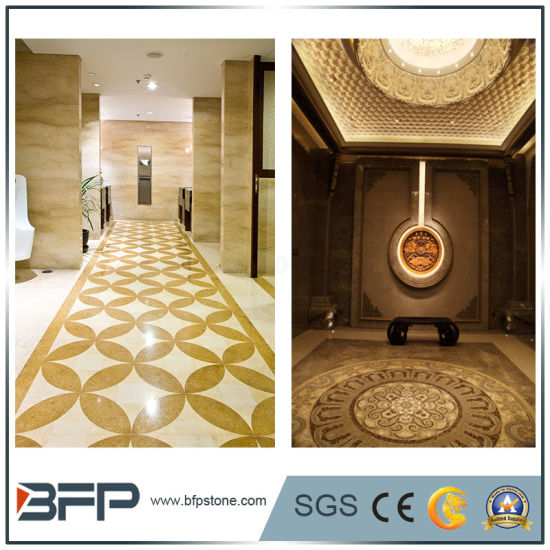 Marble Water Jet Medallion Round Design Pattern for Floor Tiles pictures & photos