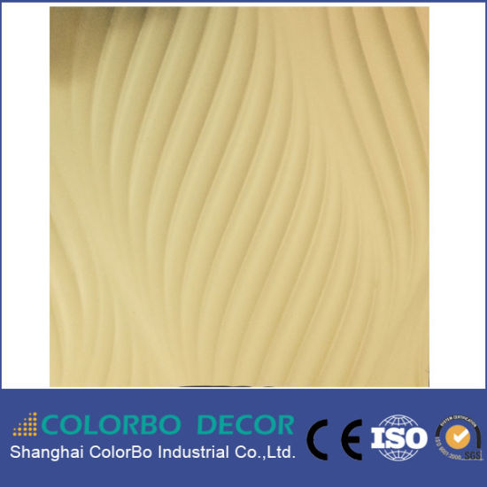 China Interior Decorative MDF 3D Carved Wood Wall Panels - China 3D ...