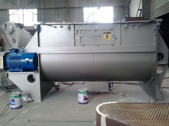 Batch-Type Single Shaft Paddle Mixers pictures & photos