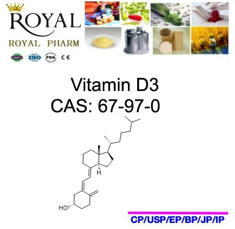 Good Quality, Low Price, Made in China, Vitamin D3, CAS: 67-97-0 pictures & photos