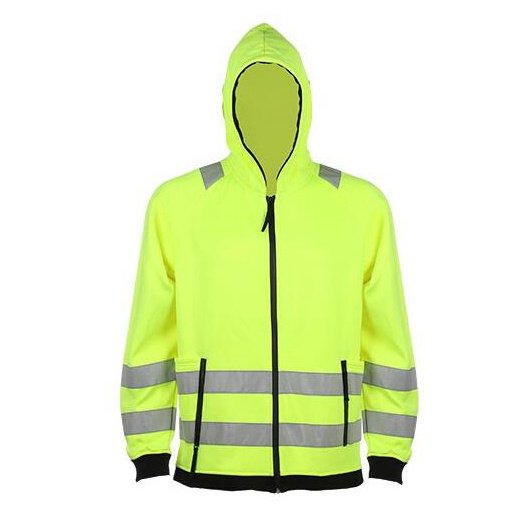 High Visibility Winter Yellow Reflective Safety Jacket