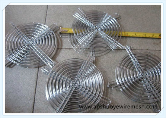 Round Metal Stainless Steel Cooling Fan Grill Guard pictures & photos