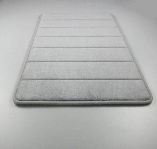 China Bath Mat Rugs Anti Slip
