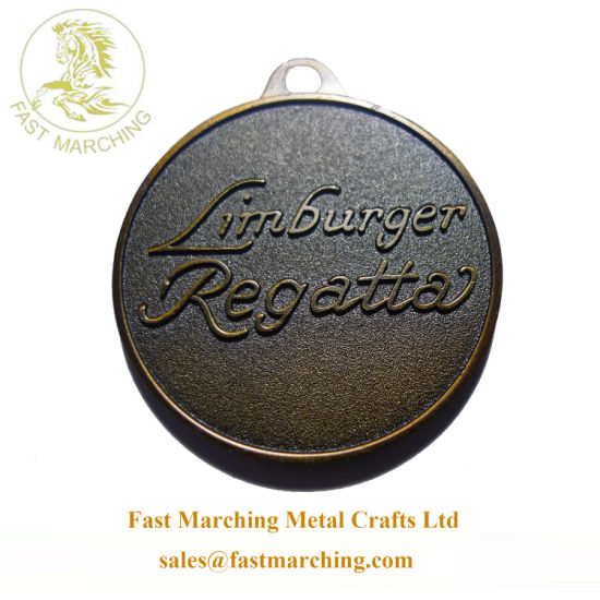 Custom Wholesale Engraved Sport Bronze Coin Blanks for Dak Medal