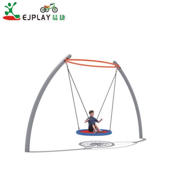 Ce Proved Outdoor Kids Amusement Equipment Metal Swing for School