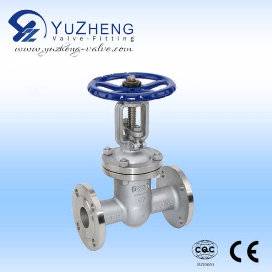 Non-Rising Stem Stainless Steel Wcb Globe Valve pictures & photos