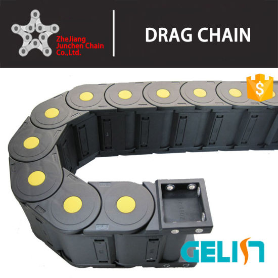 High Speed CNC Cable Chain Flexible Plastic Electric Pipe Bridge Type Cable Wire Tracks Drag Chains pictures & photos