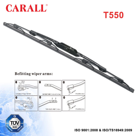 China Universal Frame Wiper Blade T550 - China Frame Wiper Blade ...