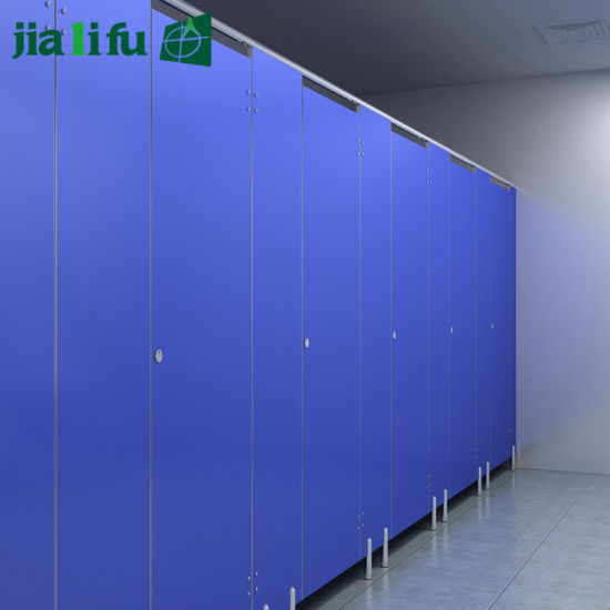 China Jialifu Decorative Waterproof Compact HPL Board Toilet Custom Phenolic Bathroom Partitions Decor
