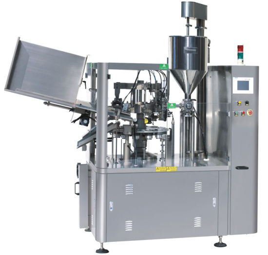 Aluminum Tube Filling and Sealing Machine Automatic Metal Tube Filling Machine pictures & photos