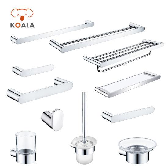 Wall Mount Bath Shower Room Hardware Fitting Accessory Bathroom Set