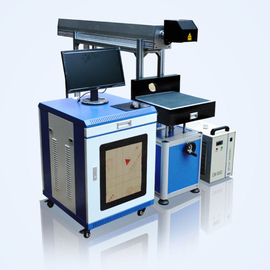 High Speed CO2 Laser Engraving Machine for Jeans Leather Material Laser Marking Machine