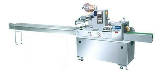 Large Automatic Horizontal Cookies Packaging Packing Machine