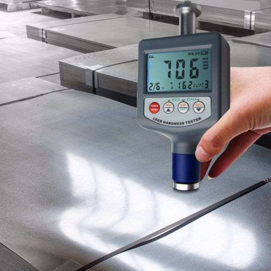 Leeb Hardness Tester Rebound Durometer Metal Steel Hardness Measuring