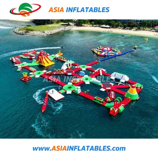 Outdoor Water Playground Inflatable Interactive Water Park pictures & photos