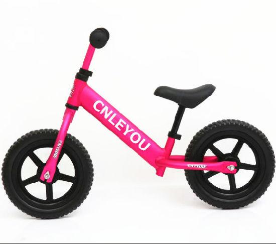 Full Carbon Steel Children Balance Bike for 1-3 Years Old