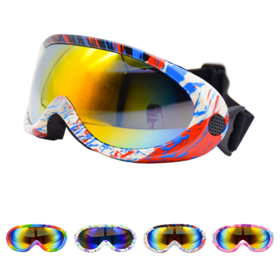 Unisex Children Outdoor Motocross Goggles ATV off Road Anti-UV Kid Sport Glasses