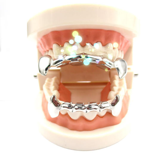 14K Gold Plated Grillz Hip Hop Grillz CZ Grillz Custom Grillz Fashion Grillz Fashion Jewelry pictures & photos