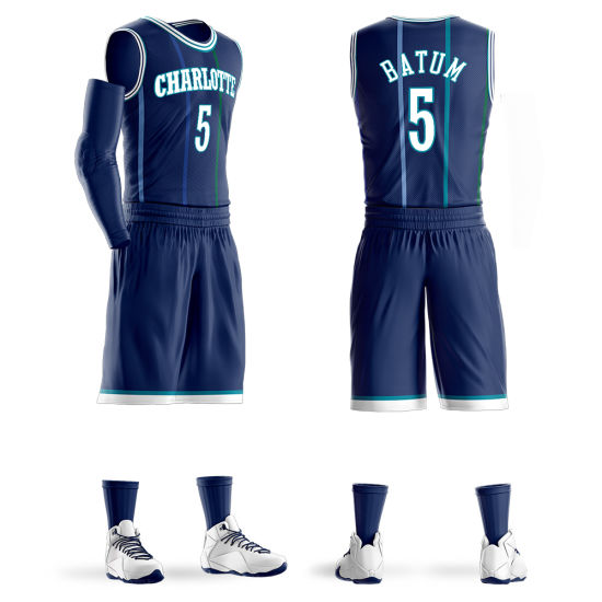 07a979933 Customize Team Basketball Uniforms for Printing Full Sublimation for Man