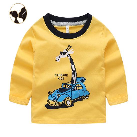100%Cotton Clothing T-Shirt OEM Service Kids Cotton Clothes