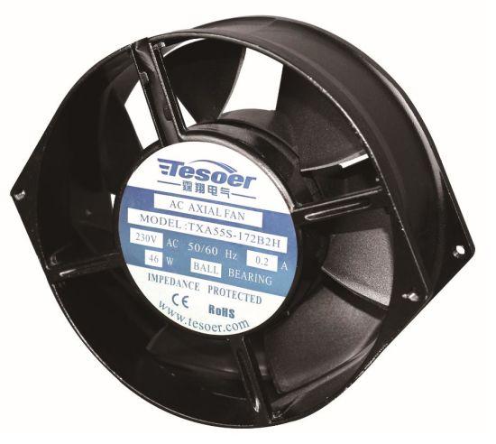 (TXA55S-172B1H) AC Electrical Axial Airflow Fan and Industrial Blower Fan