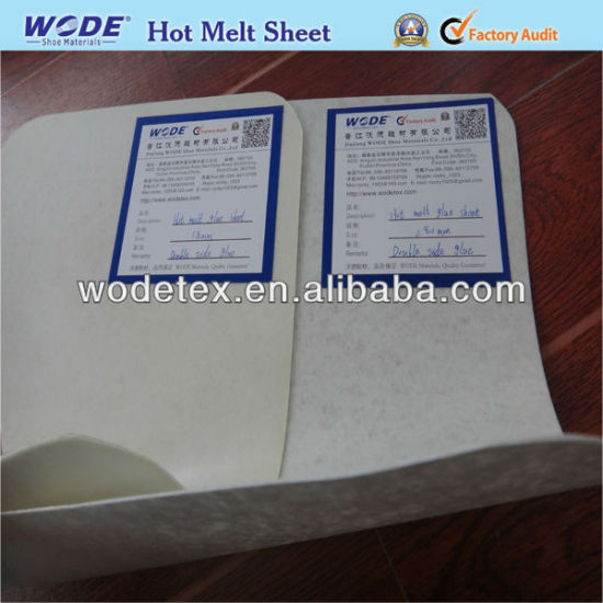 Stiffener Hot Melt Sheets Counter Shoe Toe Puff Material