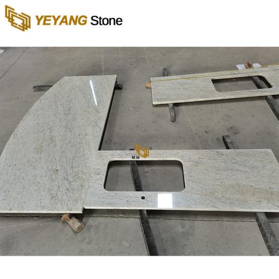 Quality Brown/Grey/White Granite Stone Slabs/Tiles Kitchen Countertops/Vanity Tops Wholesale
