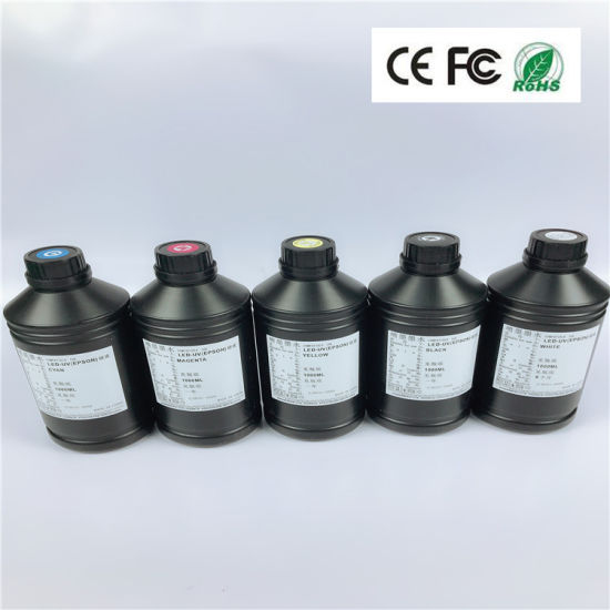 Eco Friendly UV Ink for UV Flatbed Printer Leather Acrylic Outdoor Digital Printing Best Price China