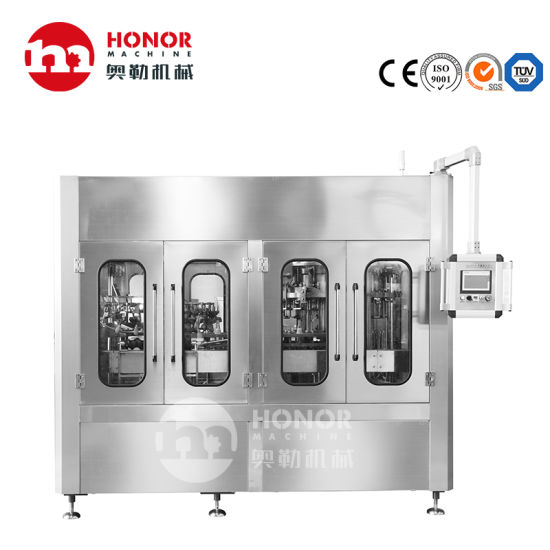 Glass Pet Bottle Beer/Alcohol/Juice Concentrate/Spring Water Beverage/Liquid Washing Filling Labeling Packaging/Blowing Machine