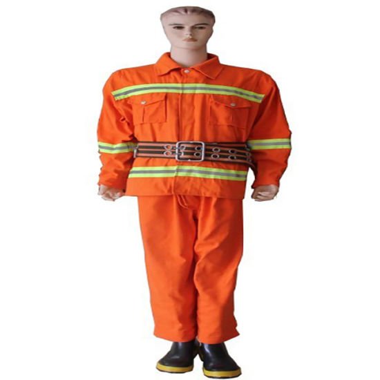 Europe Standard En469 Fireman Uniform Fire Suit Firefighting Uniform