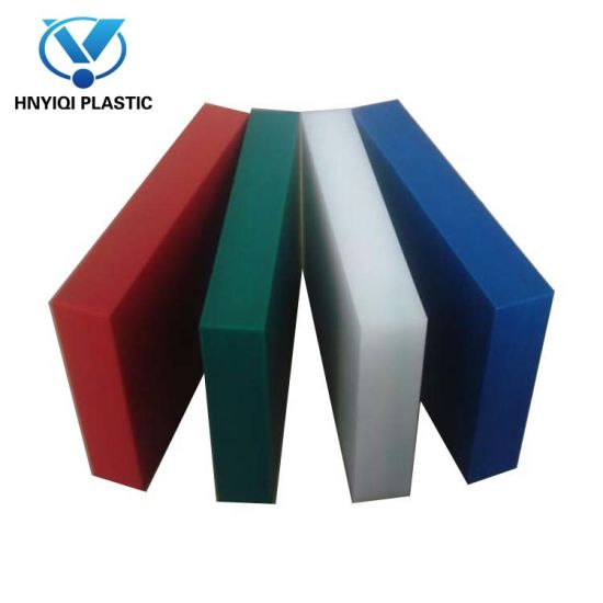 500 GRADE Black 300MM X 300MM ENGINEERING PLASTIC PLATE 40MM HDPE SHEET