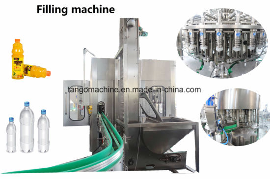 2017 New Technology Drinking Water Pet Bottle Washing Filling Capping 3-in-1 Unit Machine pictures & photos