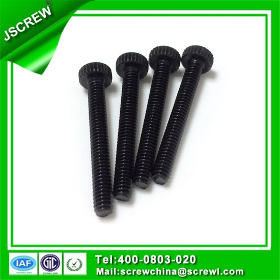 Steel Flat Head Design Long Bolts with Thread C1006 pictures & photos