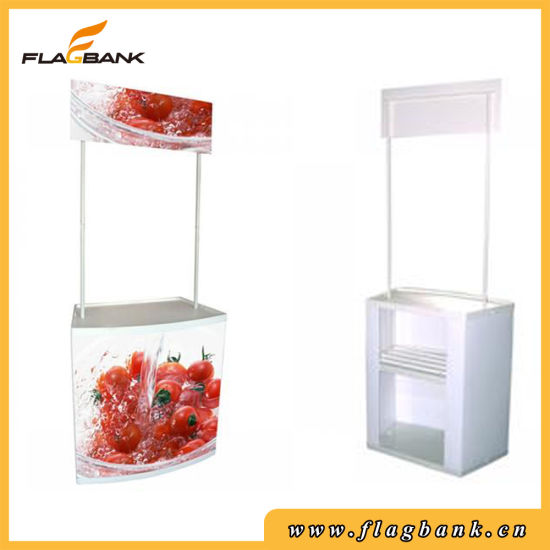 Advertising ABS Portable Exhibition Counter Display, Display Table pictures & photos