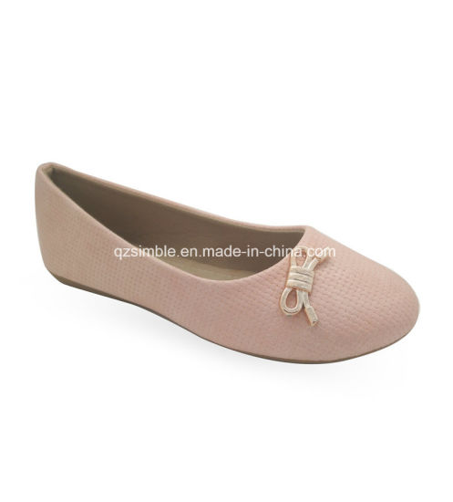Sweet Girls Flat Ballet Shoes with Soft PU Upper