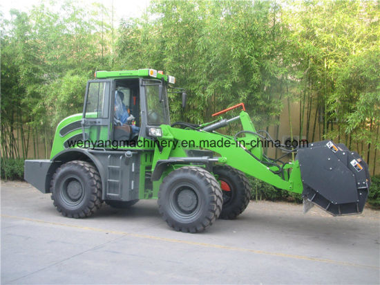 Forest Mulcher Attachment Mounted on Wheel Loader pictures & photos