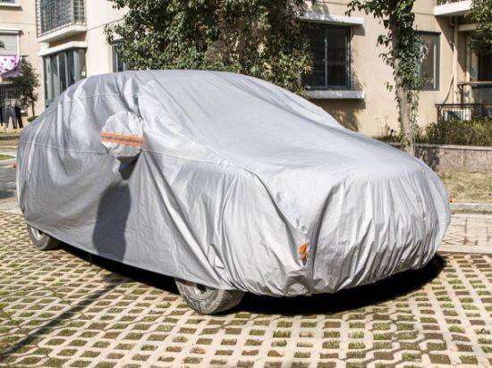 Wholesale Cheap Silver Waterproof Sunproof Auto Sedan SUV Car Cover