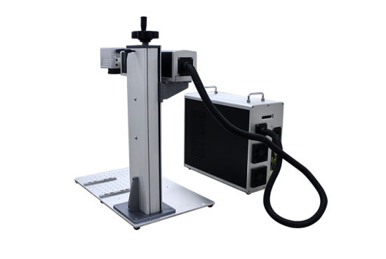 Laser Engraving/Marking Machine with Raycus Power for Metal Seal/Plastic/Phone Case/HS Code