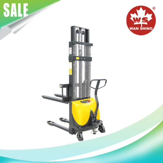 Easy Control 1.0-1.5 Ton Capacity Semi-Electric Stacker pictures & photos