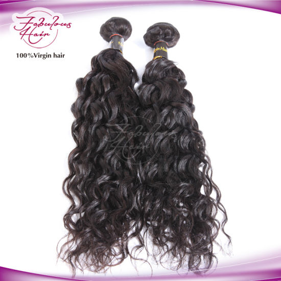 Natural Wave Brazilian Remy Virgin Hair pictures & photos