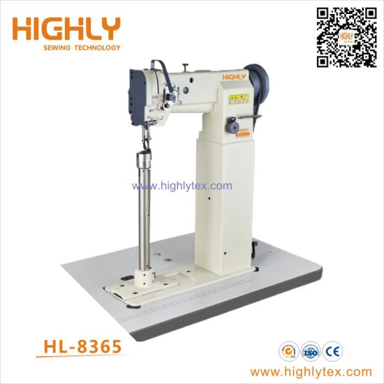 Hl-8365 High Post Bed Walking Foot Heavy Duty Leather Sewing Machine pictures & photos