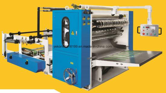 6 Line Box Drawing Facial Tissue Folding Machine