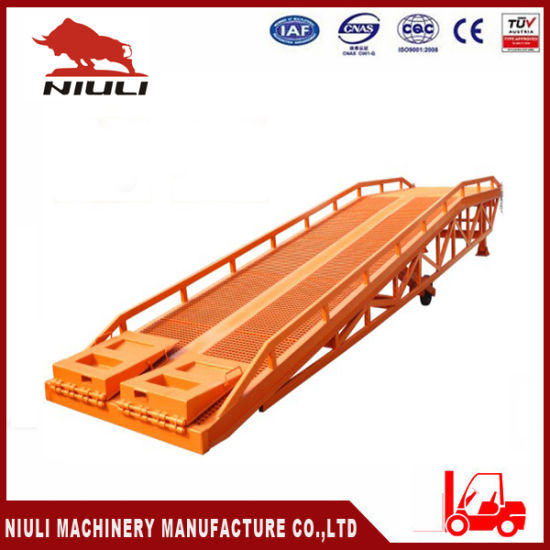 Mobile Loading Ramp with Load Capacity 10 Tons