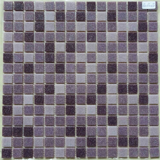 Italy Design Blue Color Glass Mosaic for Bathroom Kitchen pictures & photos