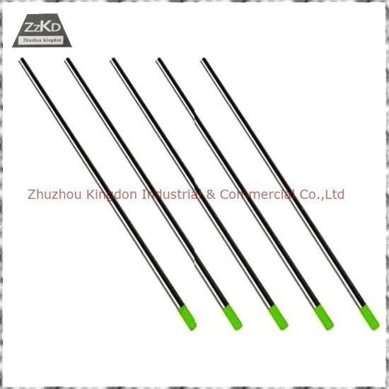 Tungsten Electrodes (WC20) /Tungsten Bar/ Tungsten Rods pictures & photos